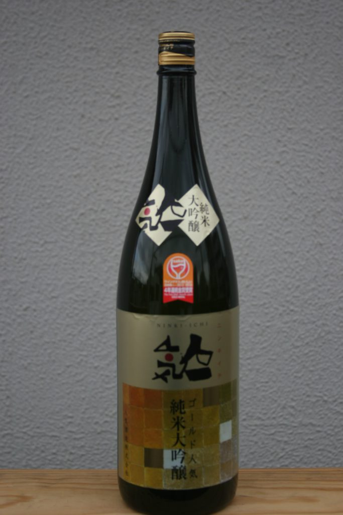 『人気一 ゴールド人気 』純米大吟醸 1800ml
